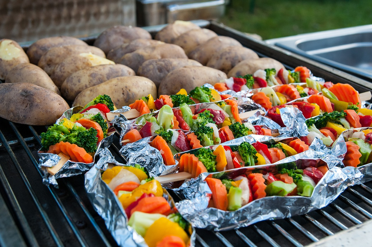 barbecue-veggies