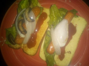 hot-dog-plate