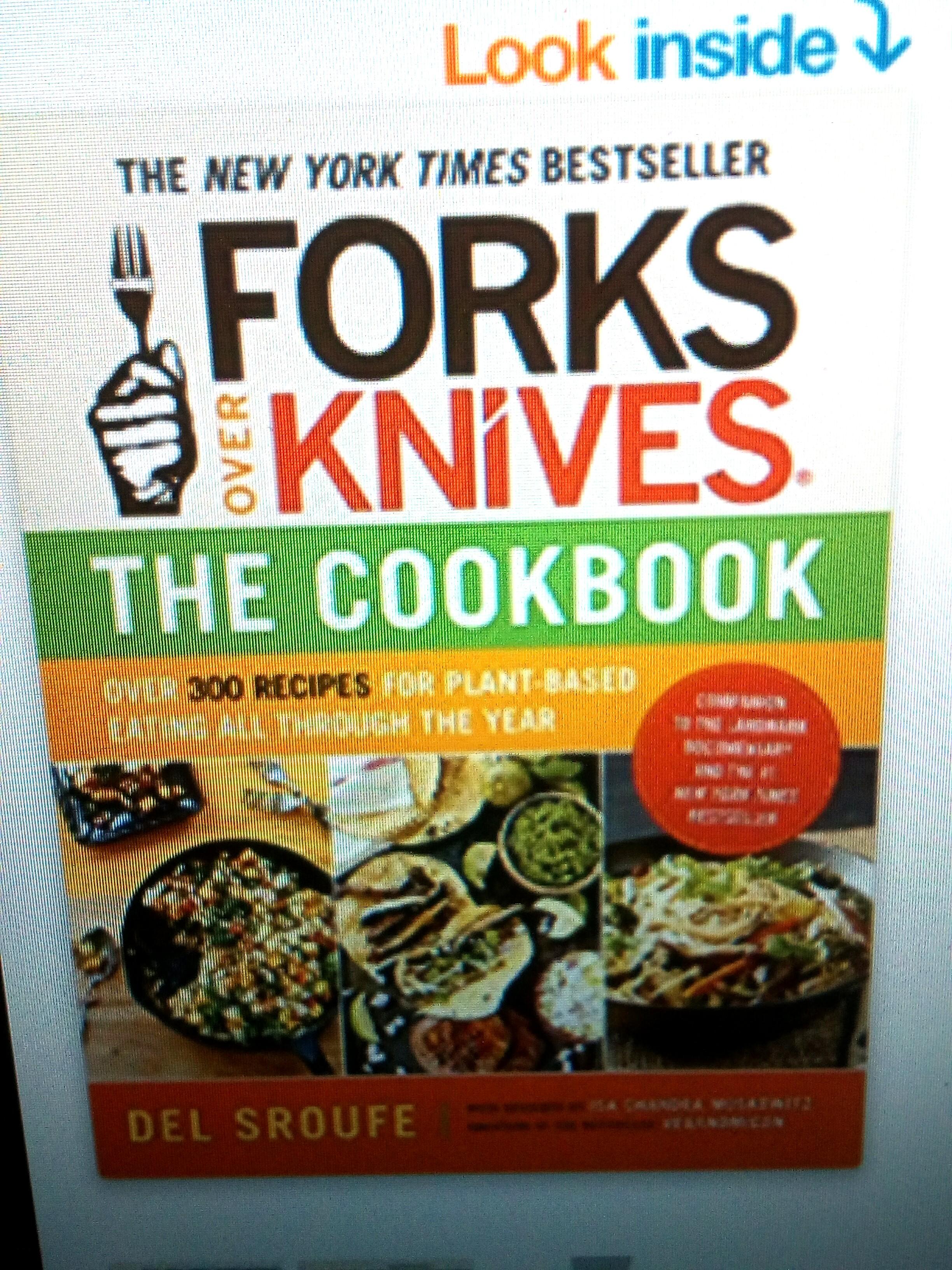 Cookbook-forks-over-knives