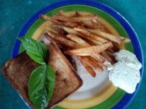 fries-veganaise