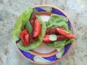 portobello-and-vegan-sausage