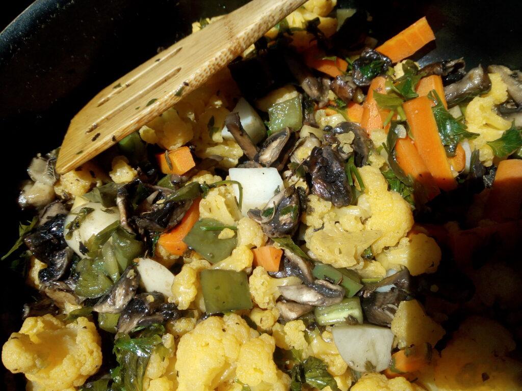 vegan veggie wraps - recipe included