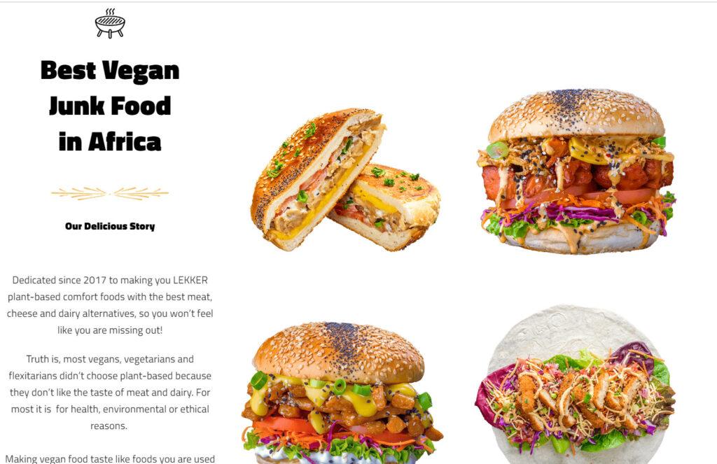 vegan lekker kloof
