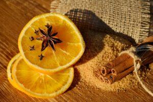 brown organic sugar