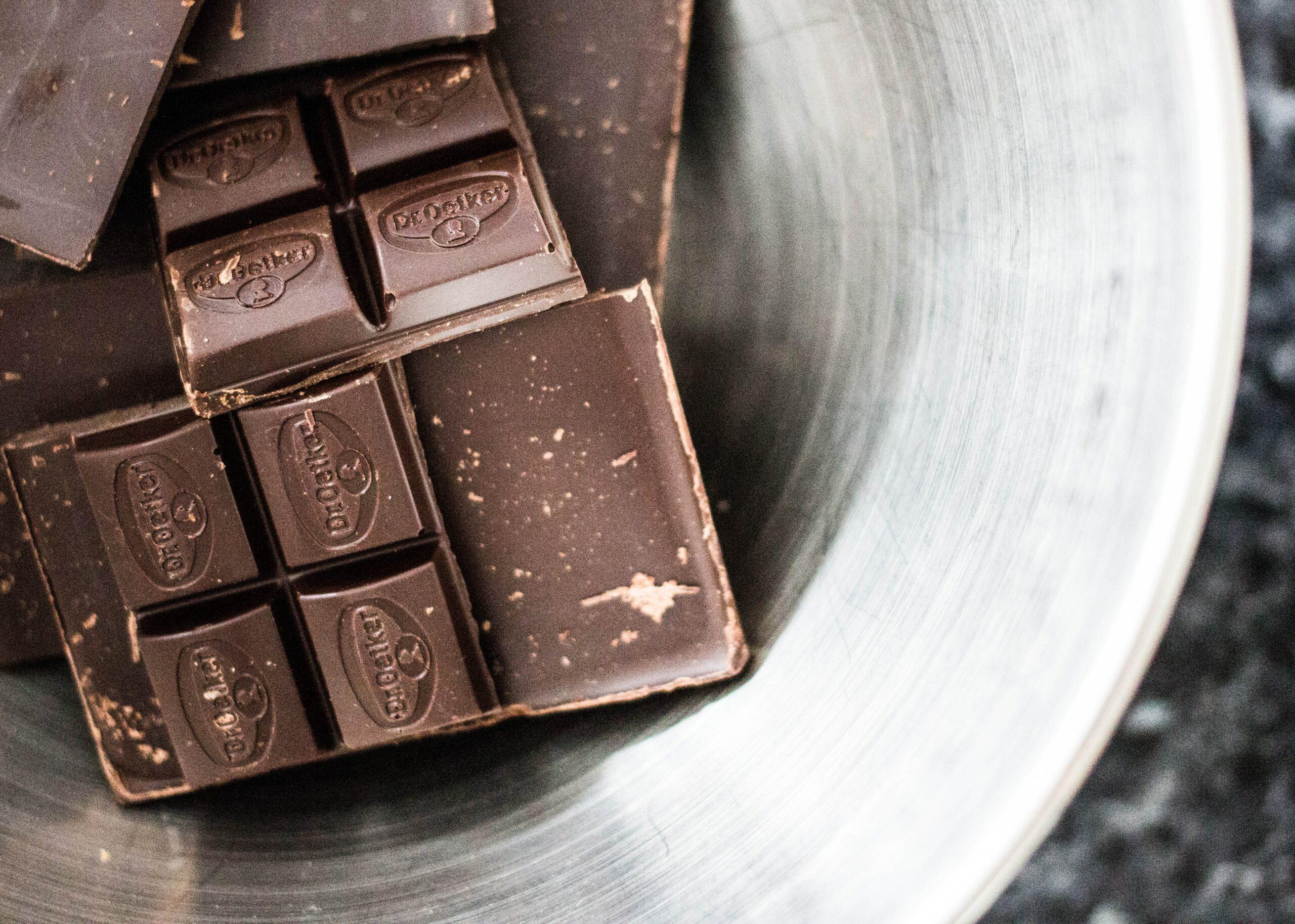 dark chocolate - iron source