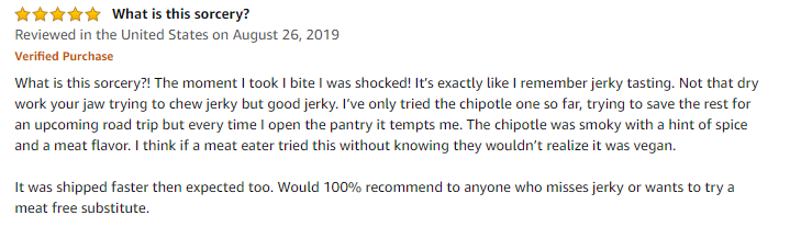 Noble Jerky Review