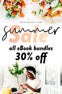 Summer Sale 2020 Nutriciously