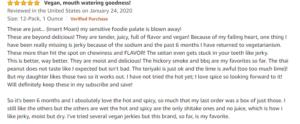 Vegan jerky pack review