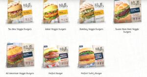 Dr.Praegers veggie burgers