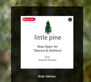 Little Pine Restaurant - Reopening With Chef Roberto Marin