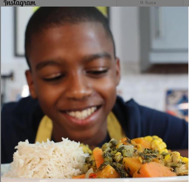 Omari Mcqueen - vegan chef