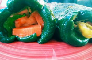 Easy Stuffed Peppers Recipe - Vegan and Gluten Free Stuffing