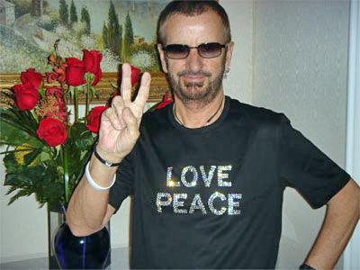 Famous Vegetarian Celebrities - Ringo Starr - Long Time Vegetarian