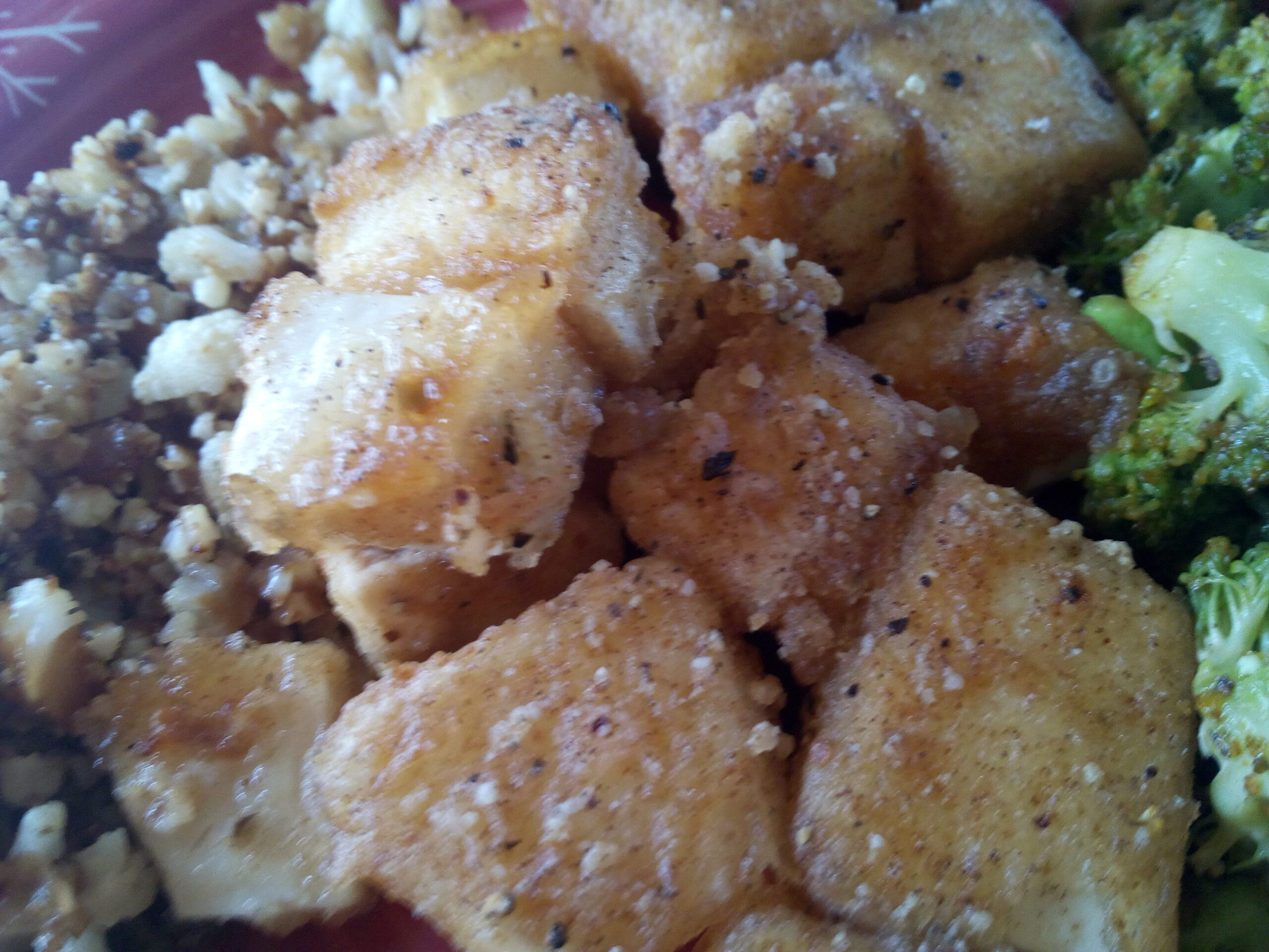 tofu in crispy batter