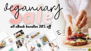 Veganuary Sale 2021 Social Media
