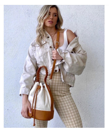 Jules Kae Chloe Bucket Bag